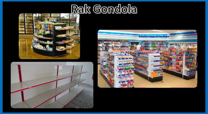 Rak Gondola Penang Perak Kedah