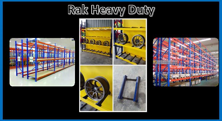 Rak Heavy Duty Penang Perak Kedah