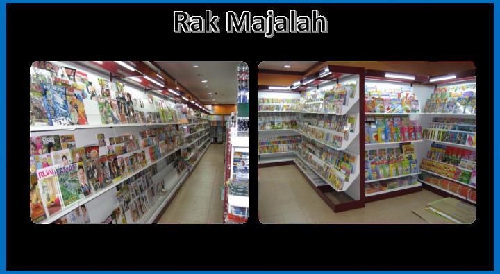 Rak Majalah Penang Perak Kedah