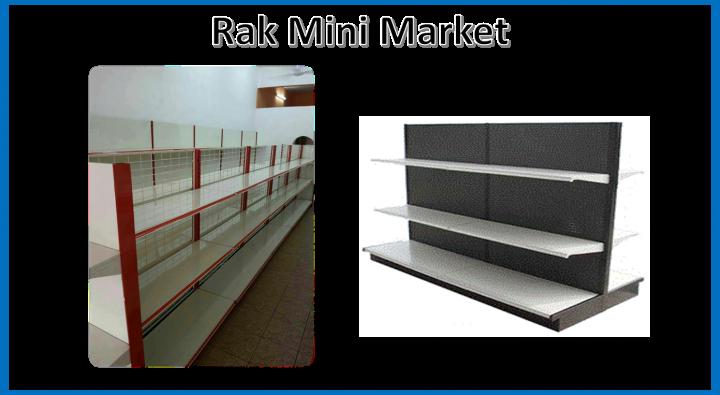 Rak Mini Market Penang Perak Kedah